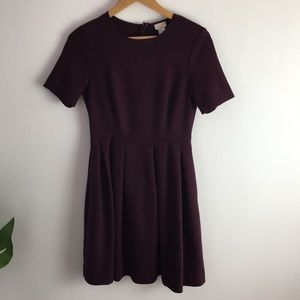 HM   fit and flare dress